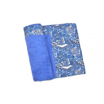 Πετσέτα Θαλάσσης MORSETO Luxury -Blue Abstract