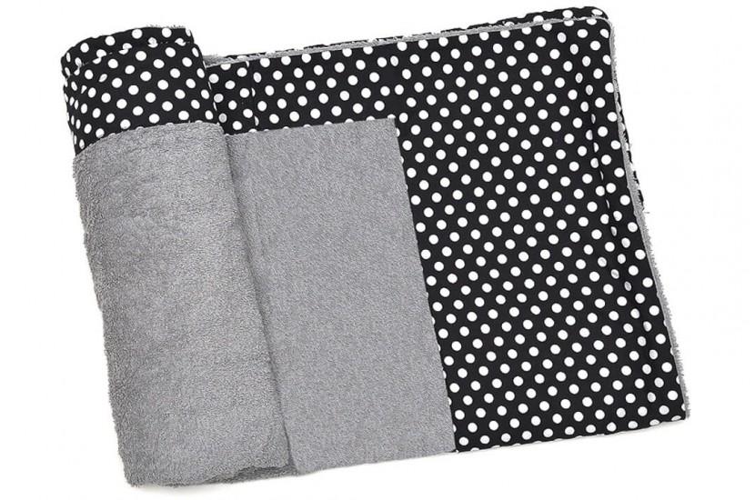 Πετσέτα Θαλάσσης MORSETO Luxury Grey Polka Dots 170  x 90 cm