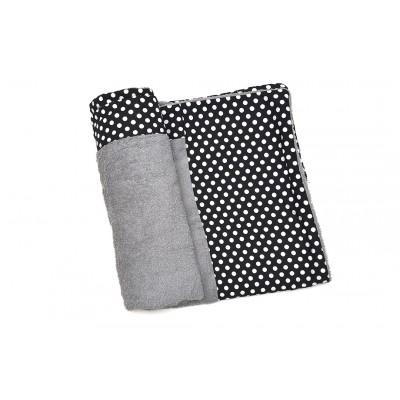 Πετσέτα Θαλάσσης MORSETO Luxury - Grey Polka Dots