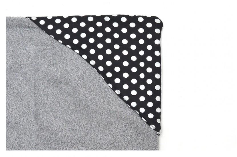 Πετσέτα Θαλάσσης MORSETO Luxury Grey Polka Dots 170x90cm
