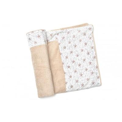 Πετσέτα Θαλάσσης MORSETO Luxury -Beige Starfish
