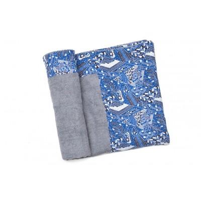 Πετσέτα Θαλάσσης MORSETO Luxury -Grey Abstract