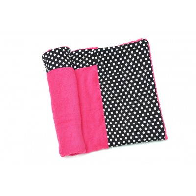 Πετσέτα Θαλάσσης MORSETO Luxury -Pink Polka Dots