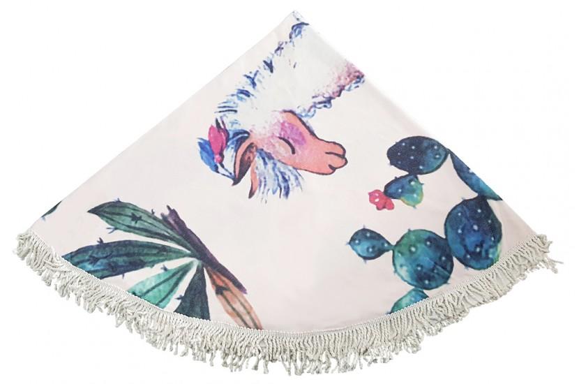 Πετσέτα Θαλάσσης Στρόγγυλη MORSETO Σχέδιο Λάμα Φ150