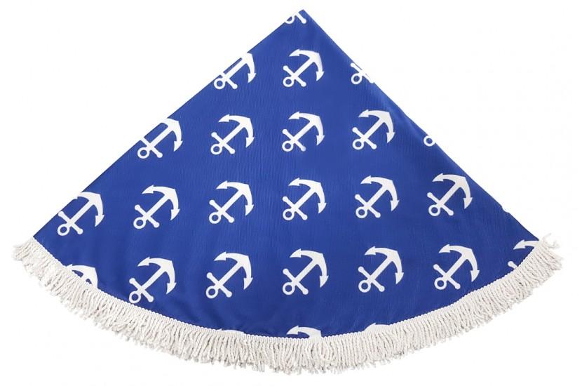 Πετσέτα Θαλάσσης Στρόγγυλη MORSETO Άγκυρα Φ150