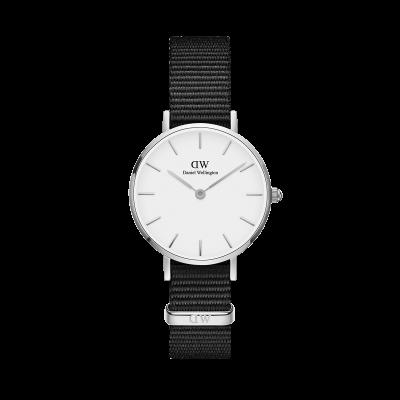 ΡΟΛΟΙ ΧΕΙΡΟΣ - DANIEL WELLINGTON Classic Petite Cornwall 28MM Silver White
