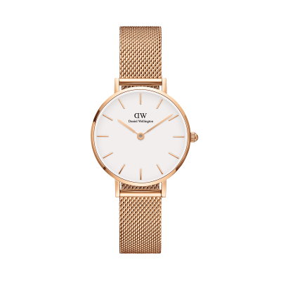 ΡΟΛΟΙ ΧΕΙΡΟΣ - DANIEL WELLINGTON Classic Petite Melrose 28mm Rose White