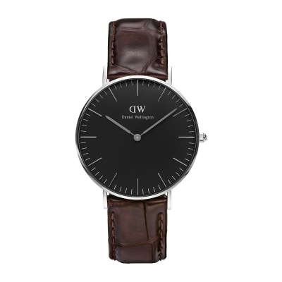ΡΟΛΟΙ ΧΕΙΡΟΣ - DANIEL WELLINGTON Classic Black York 36mm Silver