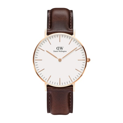 ΡΟΛΟΙ ΧΕΙΡΟΣ - DANIEL WELLINGTON Classic Bristol 36mm Rose Gold