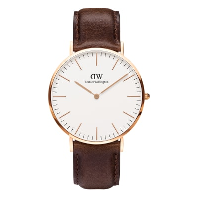 ΡΟΛΟΙ ΧΕΙΡΟΣ - DANIEL WELLINGTON Classic Bristol 40mm Rose Gold