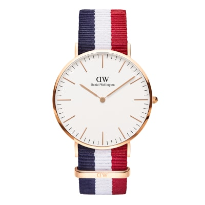 ΡΟΛΟΙ ΧΕΙΡΟΣ - DANIEL WELLINGTON Classic Cambridge 40mm Rose Gold