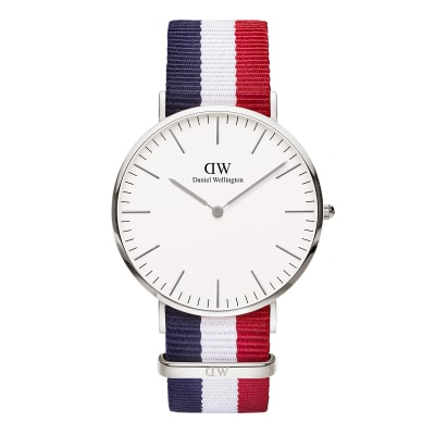 ΡΟΛΟΙ ΧΕΙΡΟΣ - DANIEL WELLINGTON Classic Cambridge 40mm Silver