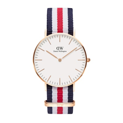 ΡΟΛΟΙ ΧΕΙΡΟΣ - DANIEL WELLINGTON Classic Canterbury 36mm Rose Gold