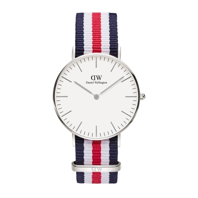 ΡΟΛΟΙ ΧΕΙΡΟΣ - DANIEL WELLINGTON Classic Canterbury 36mm Silver