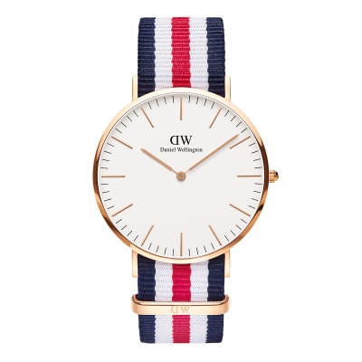 ΡΟΛΟΙ ΧΕΙΡΟΣ - DANIEL WELLINGTON Classic Canterbury 40mm Rose Gold
