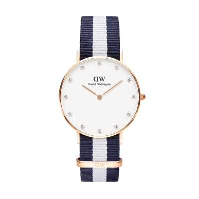 ΡΟΛΟΙ ΧΕΙΡΟΣ - DANIEL WELLINGTON Classy Glasgow 34mm Rose Gold