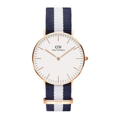 ΡΟΛΟΙ ΧΕΙΡΟΣ - DANIEL WELLINGTON Classic Glasgow 36mm Rose Gold