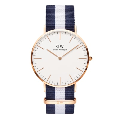 ΡΟΛΟΙ ΧΕΙΡΟΣ - DANIEL WELLINGTON Classic Glasgow 40mm Rose Gold