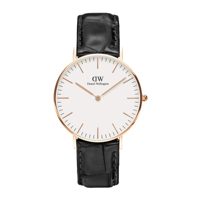 ΡΟΛΟΙ ΧΕΙΡΟΣ - DANIEL WELLINGTON Classic Reading 36mm Rose Gold