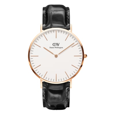 ΡΟΛΟΙ ΧΕΙΡΟΣ - DANIEL WELLINGTON Classic Reading 40mm Rose Gold