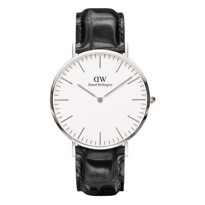 ΡΟΛΟΙ ΧΕΙΡΟΣ - DANIEL WELLINGTON Classic Reading 40mm Silver