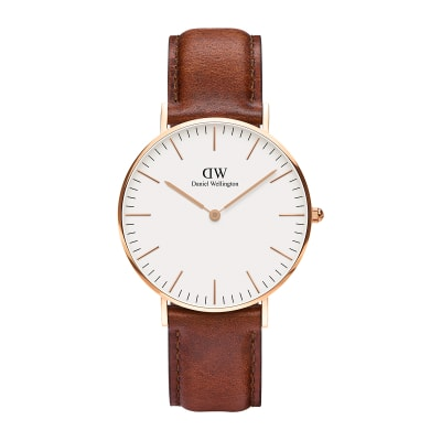 ΡΟΛΟΙ ΧΕΙΡΟΣ - DANIEL WELLINGTON Classic St Mawes 36mm Rose Gold