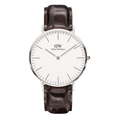ΡΟΛΟΙ ΧΕΙΡΟΣ - DANIEL WELLINGTON Classic York 40mm Silver