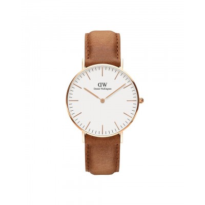 ΡΟΛΟΙ ΧΕΙΡΟΣ - DANIEL WELLINGTON Classic Durham 36mm Rose Gold