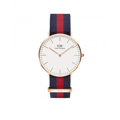 ΡΟΛΟΙ ΧΕΙΡΟΣ - DANIEL WELLINGTON Classic Oxford 36mm Rose Gold