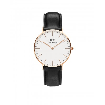 ΡΟΛΟΙ ΧΕΙΡΟΣ - DANIEL WELLINGTON Classic Sheffield 36mm Rose Gold