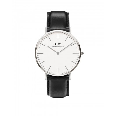 ΡΟΛΟΙ ΧΕΙΡΟΣ - DANIEL WELLINGTON Classic Sheffield 40mm Silver