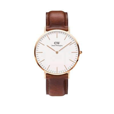 ΡΟΛΟΙ ΧΕΙΡΟΣ - DANIEL WELLINGTON Classic St Mawes 40mm Rose Gold