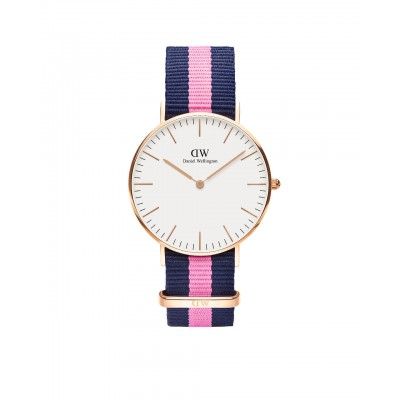 ΡΟΛΟΙ ΧΕΙΡΟΣ - DANIEL WELLINGTON Classic Winchester 36mm Rose Gold
