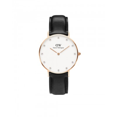 ΡΟΛΟΙ ΧΕΙΡΟΣ - DANIEL WELLINGTON Classy Sheffield 34mm Rose Gold