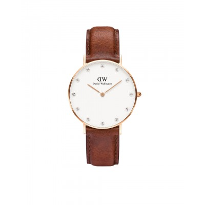 ΡΟΛΟΙ ΧΕΙΡΟΣ - DANIEL WELLINGTON Classy St Mawes 34mm Rose Gold