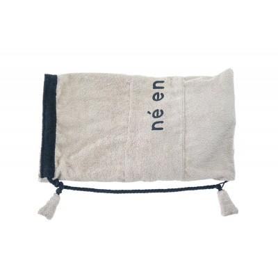 Σάκος παραλίας και πετσέτα Μπέζ