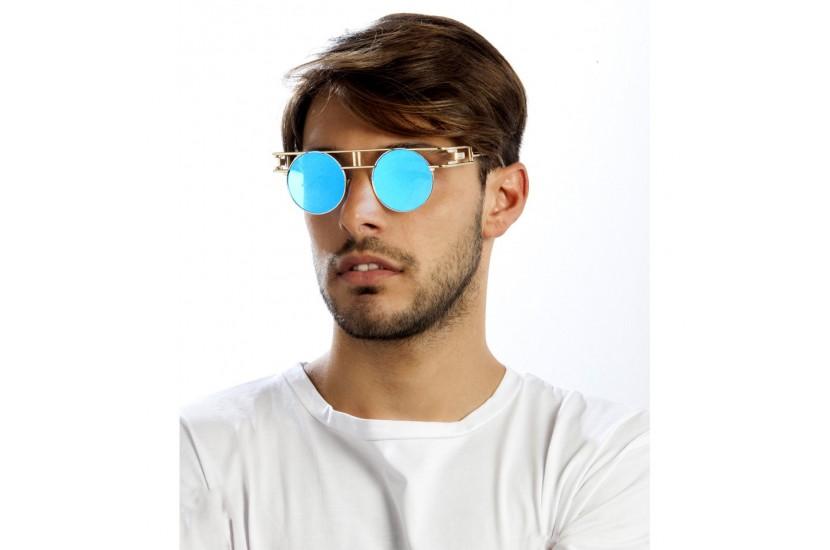 Γυαλιά Ηλίου TheMyo Operound Gold Flash Blue