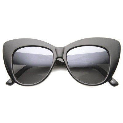 Γυαλιά Ηλίου Morseto Women' s Oversize Retro Cat Eye Black Smoke