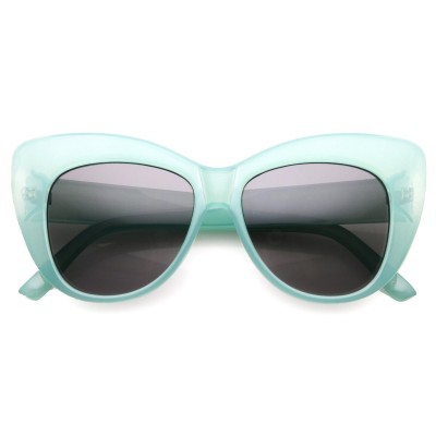 Γυαλιά Ηλίου Morseto Women' s Oversize Retro Cat Eye Green Smoke