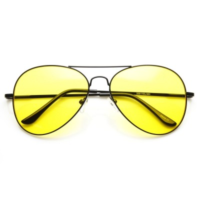 Γυαλιά Ηλίου Morseto Retro Large Metal Black Black Yellow