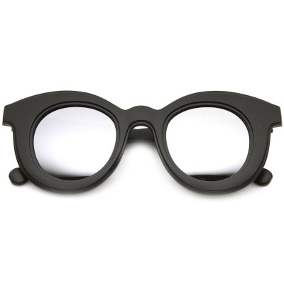 Γυαλιά Ηλίου Morseto Women 's Round Cat Eye Black Mirror