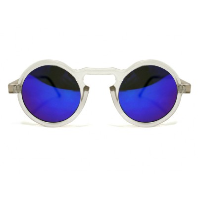 9722e350d4 Sunglasses Spitfire AURORA Matt Clear   Gold   blue Mirror