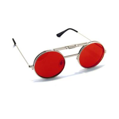 Γυαλιά Ηλίου Spitfire LENNON FLIP Silver & Clear / red revo