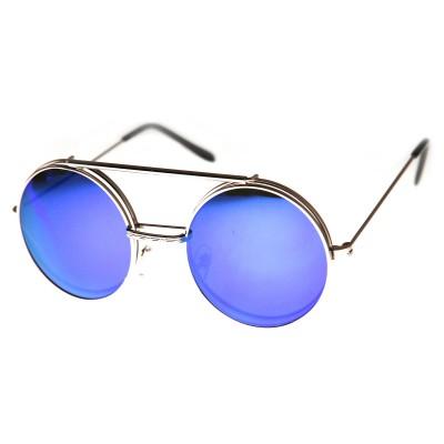 Γυαλιά Ηλίου Spitfire LENNON FLIP Silver & Clear / blue revo