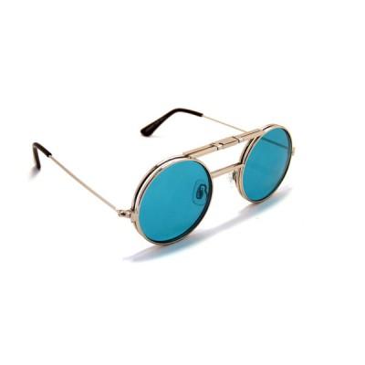 Γυαλιά Ηλίου Spitfire LENNON FLIP Silver & Clear / Turquoise