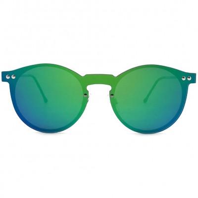 Γυαλιά Ηλίου Spitfire ORPHIUS Silver / Green Mirror