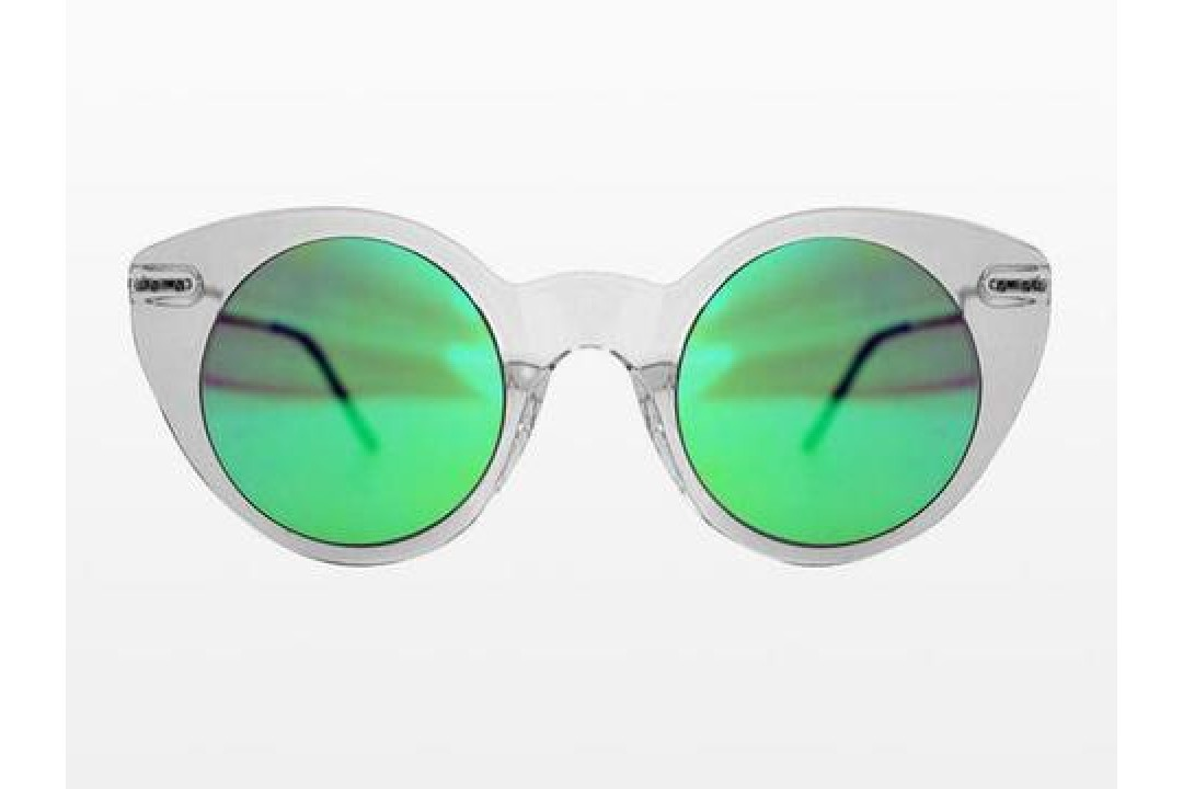 2226ae969b Γυαλιά Ηλίου Spitfire SUPER SYMMETRY Clear   Bright Green