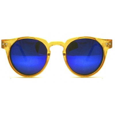 Γυαλιά Ηλίου Spitfire TEDDY BOY Yellow / blue revo