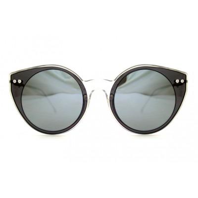3fa4b16eee Γυαλιά Ηλίου Spitfire ALPHA Double Lens Clear   Black   Silver Mirror