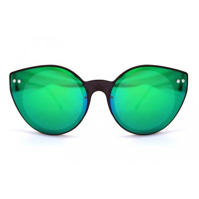 Γυαλιά Ηλίου Spitfire ALPHA 2 Black / Green Mirror